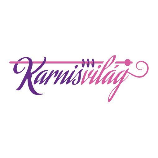 Lukakétsoros fém függönykarnis szett antik arany
