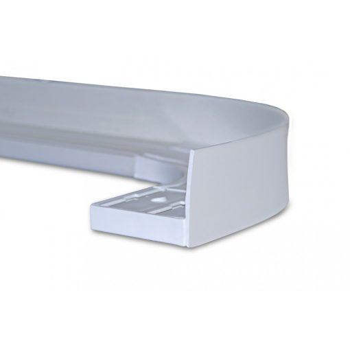 Mennyezeti sínes karnis dekor előlap fehér