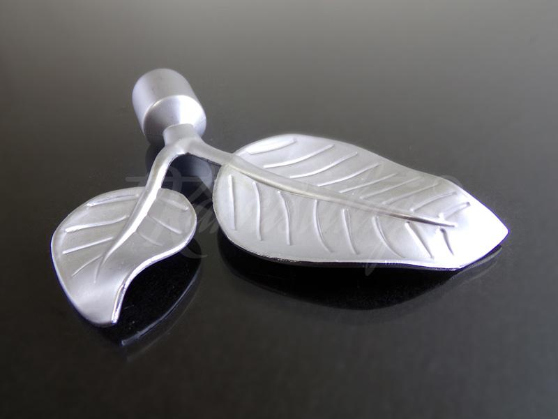 Greet  szatén nikkel fém függönykarnis végzáró